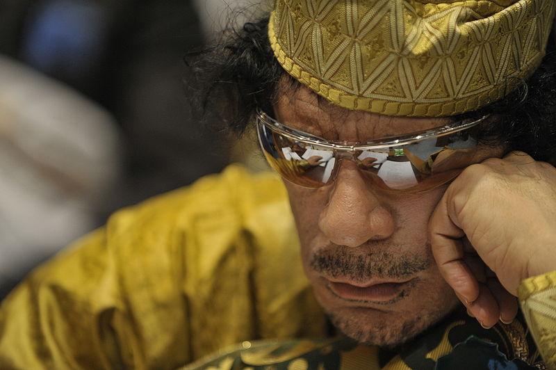 Photo Muammar Gaddafi Dead On The Internet