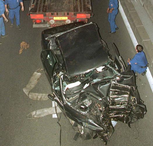 Lady diana car crash