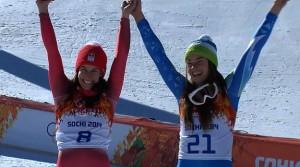 downhill skiing winners sochi