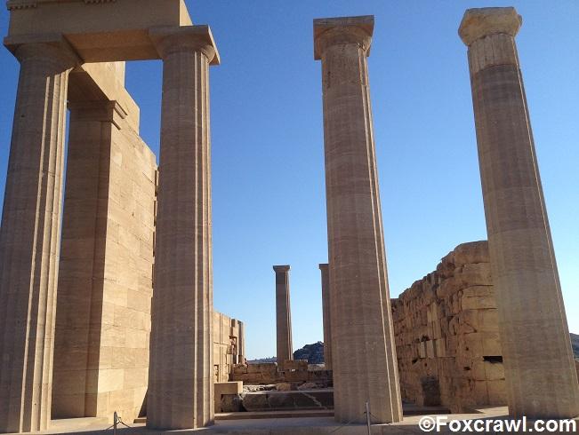 Athena Lindia temple Lindos