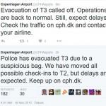 Bomb Alert in Denmark: Copenhagen Kastrup Airport terminal evacuated after suspicious package found