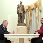 Steven Seagal officially became Russian after receiving passport from Vladimir Putin