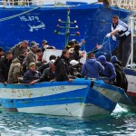 150 immigrants still missing after their ship capsized off Italy coast
