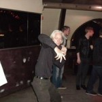 Julian Assange dancing in Reykjavik club?