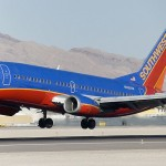 Southwest Airlines B737 plane lands urgently after 2-meter fuselage crack