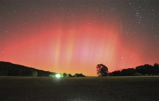 Video Aurora Borealis Seen In Southern U S Cities Foxcrawl