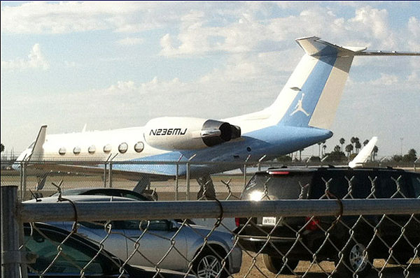 photo  michael jordan u2019s custom private jet  u2013 foxcrawl