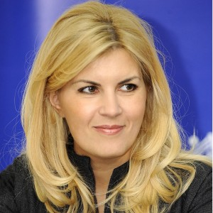 Elena Udrea, a model and politician (Alina Salitrarovici via Wikimedia)