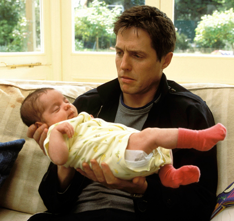Hugh Grant is fatherin...