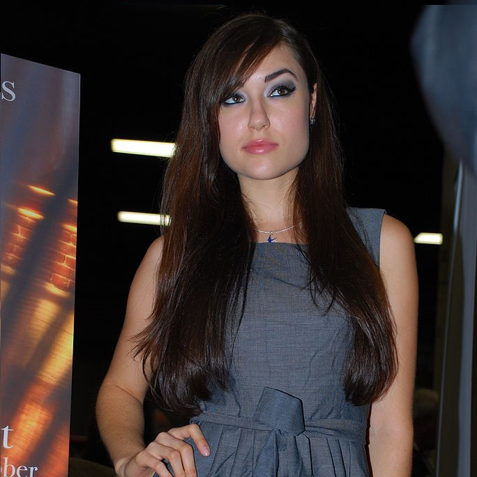 Sasha Grey, here at New York event in 2009 (James Chang via Wikimedia Commons)