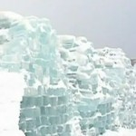 Balea ice hotel, famous throughout Europe. BBC broadcast images from inside the construction