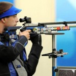 Alin Moldoveanu claims gold medal in 10 meter air rifle olympic shooting