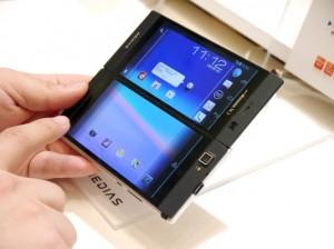 NEC Medias W N-05E runs Android 4.1