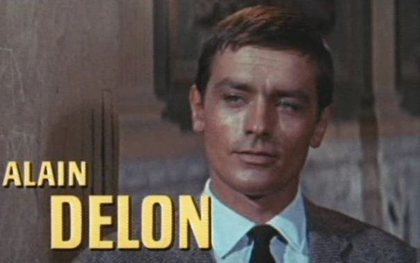 Alain Delon makes shoc...