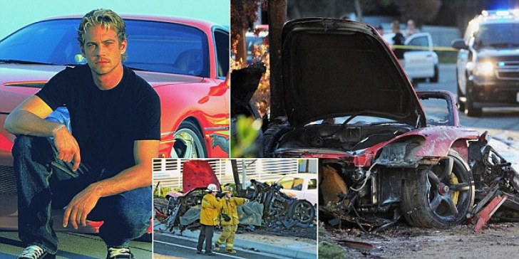 Paul Walker killed in Porsche crash in California. Fast and Furious ...