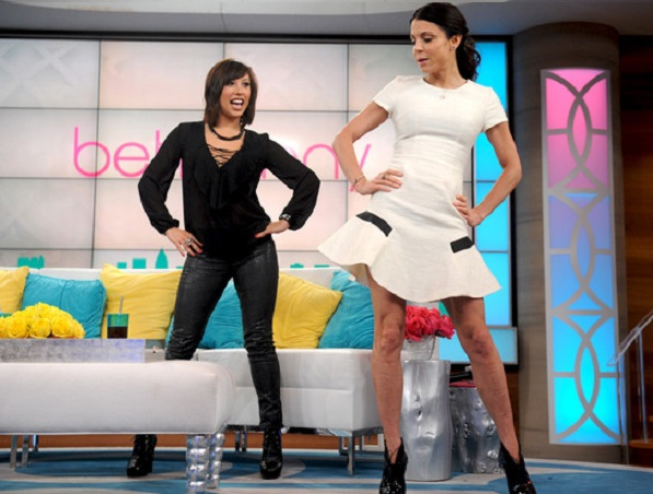 Bethenny Frankel unveils dress mishap while dancing with star Cheryl