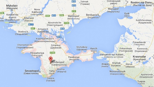 "Google ""recognizes"" Crimea annexation by Russia  Search"