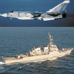 Russian fighter jet Sukhoi Su-24 made 12 close-range passes near U.S. Destroyer Donald Cook in Black Sea