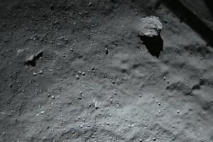 Comet landing Philae probe Rosetta mission
