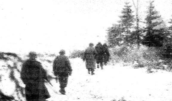 December 1944 : Company C , 1st Battalion , 317 Infantry Regiment