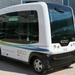 First driverless electric minibuses WEpods to run on Dutch roads in November 2015