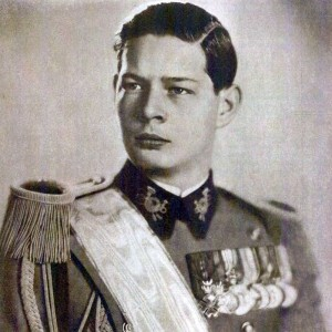 King Michael (Mihai) I of Romania during his youth (public domain)