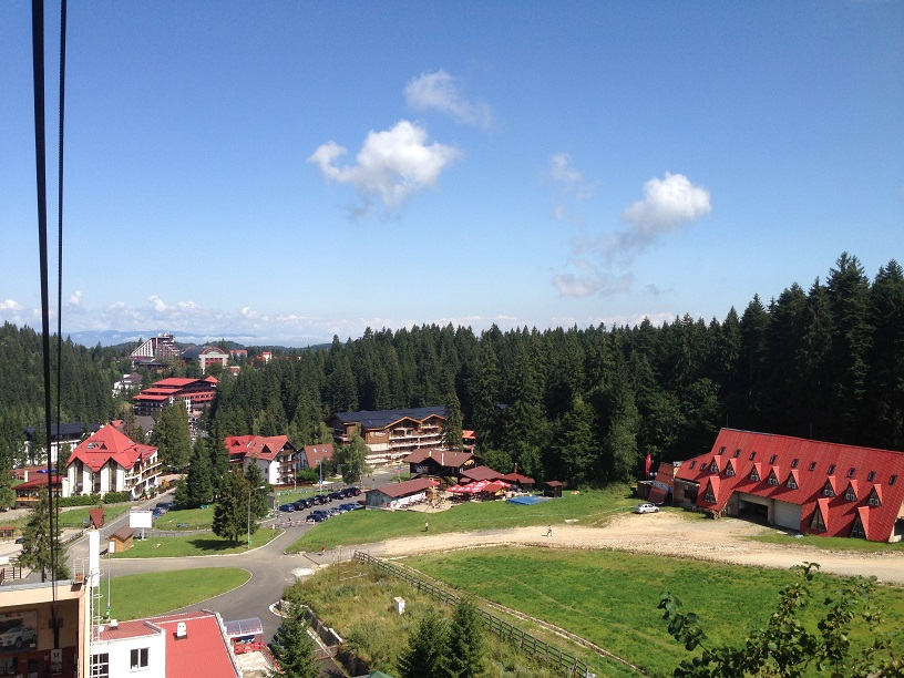 Poiana Brasov back in close view