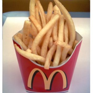 mcdonalds french fries potatoes