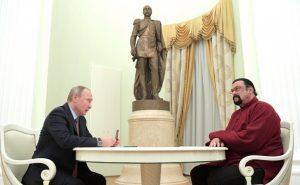 Vladimir Putin Steven Seagal