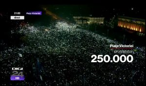 bucharest protests 2017