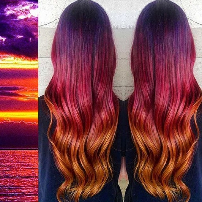 The Unseen Unveils Fire A Hair Dye With Temperature