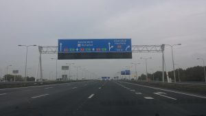 dutch tunel motorway a12