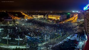 protest bucharest 2017