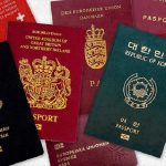 Why are passports available in 4 colours only?