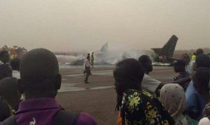 plane crash south sudan