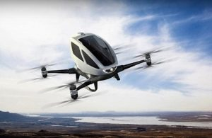 Uber flying taxi Ehang 184 drone