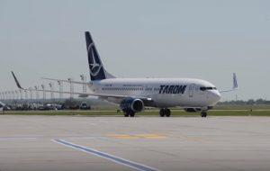 tarom boeing 737-800 NG