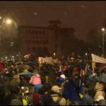 Romanians join #Rezist movement to fight against corruption in nation-wide protests on January 20, 2018