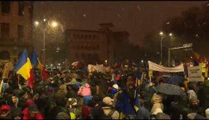 protest romania 2018