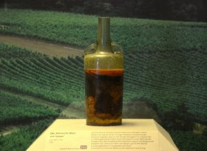 oldest wine bottle